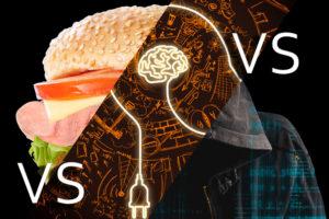 Inventor vs Virus vs Cannibals